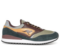 Sneaker grün/braun