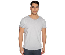 Kurzarm T-Shirt hellgrau