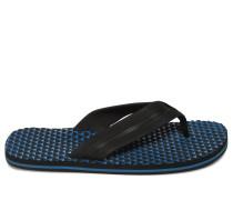Zehentrenner schwarz/blau