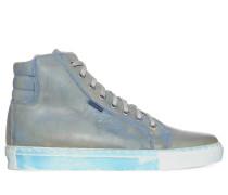 Sneaker orange/blau