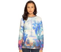 Sweatshirt offwhite/blau