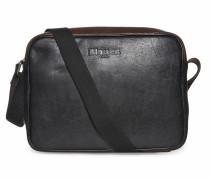 Tasche schwarz/dunkelbraun