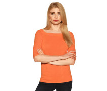 Strickshirt orange