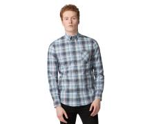 Langarm Hemd Regular Fit blau/mehrfarbig