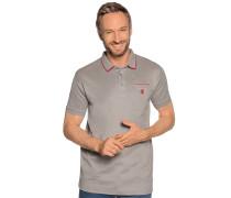 Kurzarm Poloshirt grau