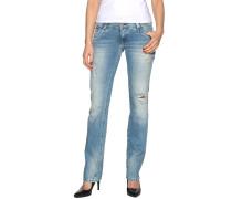 Jeans Viola blau