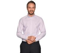 Business Hemd Regular Fit weiß/blau/rot