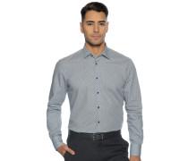Business Hemd Regular Fit blau/weiß