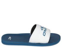 Sandalen blau/weiß