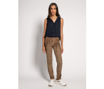 Jeans Slim braun