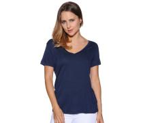 Kurzarm T-Shirt navy