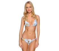Bikini hellblau/mehrfarbig