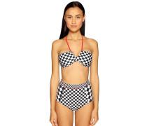 Bikini schwarz/weiß