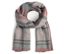 Schal rosa/grau
