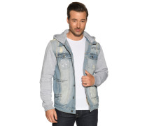 Jeans Jacke hellblau