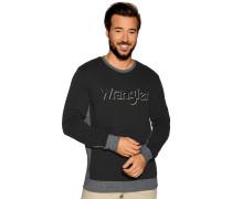 Sweatshirt schwarz/grau