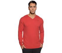 Pullover mit Kaschmiranteil rot