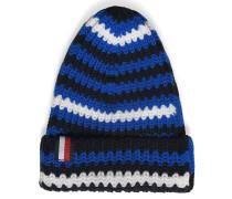 Mütze blau/weiß/schwarz