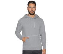 Sweatshirt, grau meliert