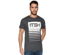 Kurzarm T-Shirt anthrazit