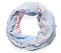Loopschal, rosa/hellblau