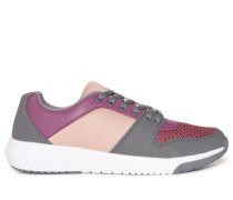 Sneaker grau/lila