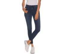Jeans Skinny Ankle Mid Rise dunkelblau