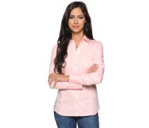 Langarm Bluse rosé