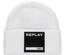 Mütze weiß