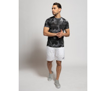 T-Shirt schwarz/grau