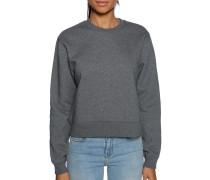 Sweatshirt grau meliert