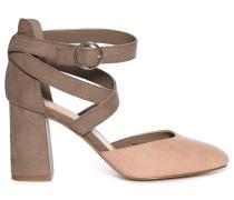 Sandaletten braun/rosa