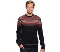 Pullover navy/bordeaux
