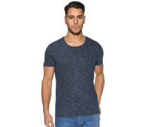 Kurzarm T-Shirt navy gestreift