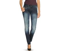 Jeans Midge Sculpted L.W. Skinny blau