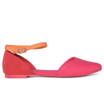 Ballerinas pink/mehrfarbig