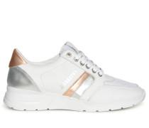 Sneaker weiß/roségold