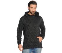 Sweatshirt schwarz meliert