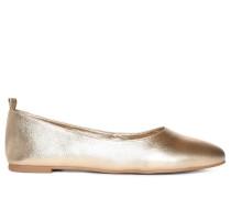 Ballerinas, Gold, Damen