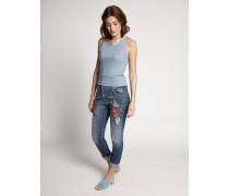 Jeans Straight blau