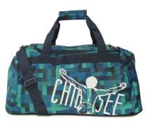 Sporttasche, blau/grün