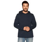 Sweatshirt navy meliert