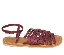 Sandalen bordeaux
