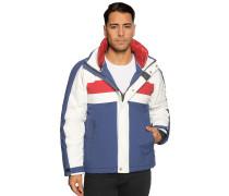 Jacke blau/weiß/rot