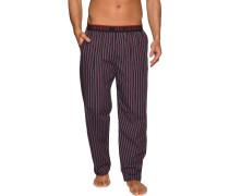 Pyjamahose navy gestreift