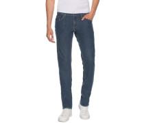Jeans Bleecker blau