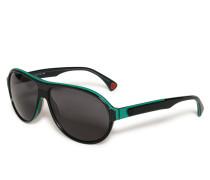 Sonnenbrille grün/schwarz