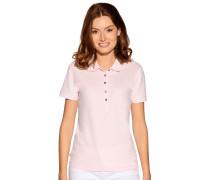 Kurzarm Poloshirt rosa