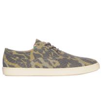Sneaker, grün/braun