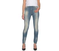 Jeans High Waist blau